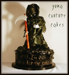 scary! great for a guy's cake