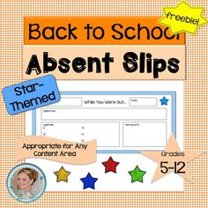 Tips for staying organized when students have been absent