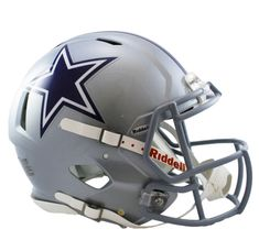 Dallas Cowboys Authentic Full Size Speed Helmet
