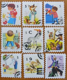 Dimes and Quarters - for the love of thrifting and creativity  Post stamps