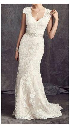 Wedding Dress Over 40, Second Wedding Dresses, Cheap Wedding Dress, 2nd Marriage Wedding Dress, Mature Wedding Dresses, Casual Lace Wedding Dress, Older Bride Dresses, Modest Wedding, Wedding Gowns