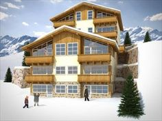 Ski apartment in Austria. Price 856 053 PLN