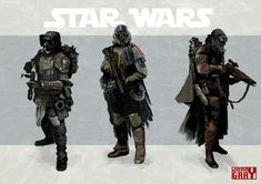 star wars bountyhunters - Rebels Star Wars - Ideas of Rebels Star Wars - star wars bountyhunters Star Wars Characters Pictures, Sci Fi Characters, Star Wars Concept Art, Star Wars Fan Art, Star Wars Rpg, Star Wars Ships, Edge Of The Empire, Dark Empire, Star Wars Bounty Hunter