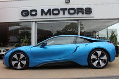 BMW i8 for sale at www.ecocars4sale.com