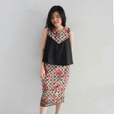 Batik Batik Blazer, Blouse Batik, Batik Dress, Blouse Dress, Cute Dress Outfits, Cute Dresses, Beautiful Dresses, Casual Dresses, Fashion Dresses