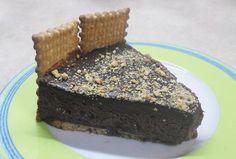 Τούρτα με πτι μπερ. Εύκολη , σοκολατένια και λαχταριστή τούρτα!