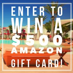 $500 Amazon or Cash Giveaway! Open worldwide, ends 9/14