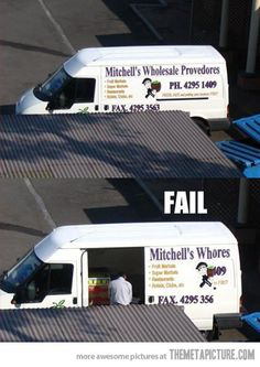Van Naming Fail…