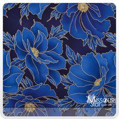 Imperial Collection 10 - Indigo Yardage - Studio RK - Robert Kaufman - Missouri Star Quilt Company