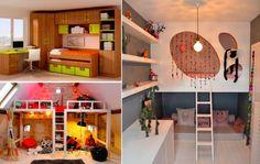 32 idées afin d'optimiser l'espace d'une petite chambre d'enfant