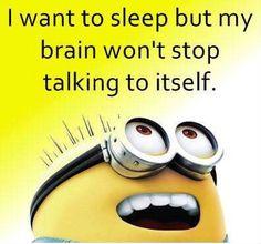 Funny Joke About Talking Brain - Funny Minions Quotes Minion Jokes, Minions Quotes, Funny Minion, Minion Sayings, Minions Images, Funny Sayings, Funny Jokes, Hilarious, Minions Love