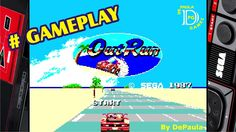 Out Run MASTER SYSTEM Gameplay