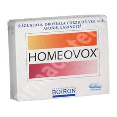 Homeovox, 60 capsule, Boiron[3352712001675] Calendula, Facial Tissue, Personal Care, Pharmacy, Self Care, Personal Hygiene