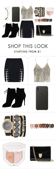 """""""glitter glitter zam zam"""" by lynsay-1 on Polyvore featuring Alice + Olivia, Tom Ford, Apple, Jessica Carlyle, Puma, Aspinal of London and Ray-Ban"""