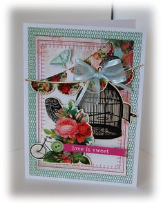 Love is sweet Secret Admirer, Love Cards, Love Is Sweet, Card Stock, Card Making, Gift Wrapping, Card Ideas, How To Make, Blog