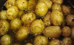 Receitas Rápidas e Fáceis: Como Fazer Conserva de Batata Bolinha no Azeite de...