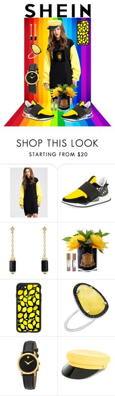 """💛"" by maria-dubinina ❤ liked on Polyvore featuring Givenchy, David Yurman, Côte Noire, Casetify, Christina Debs, Movado and Manokhi"