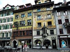 Fachwerkhaeuser Luzern
