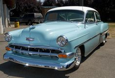 1954 Chevy/This was my first car, Love it. I now have one in storage waiting to be restored to its orginal glory.