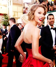 taylor swift at the golden globes 2014