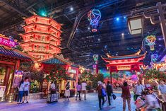 Wanda's biggest indoor theme park in Nanjing opens its doors : Park World Online – Theme Park, Amusement Park and Attractions Industry News Abandoned Cities, Abandoned Mansions, Abandoned Houses, Indoor Amusement Parks, Abandoned Amusement Parks, Shopping Mall Interior, Japan Interior, Changchun, Online Themes
