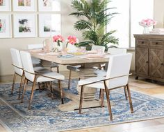 Christine Andrew shares her dining room reveal with Joss & Main plus tips to creating a space that's both a fresh and functional for a family.