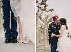 Intimate army wedding, San Francisco wedding photographer, Tinywater Photography, http://tinywater.com.