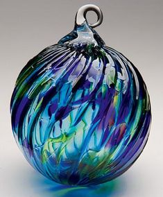 Glass Ornaments, Mouth Blown