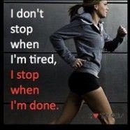 Just keep running.