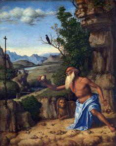 581. Cima da Conegliano - San Girolamo nel deserto - 1505-10 circa - Londra, National Gallery