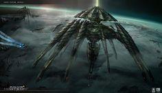 Spaceship Art, Spaceship Design, Arte Sci Fi, Sci Fi Art, Alien Ship, Starship Concept, Images Star Wars, Star Wars Vehicles, Star Trek Into Darkness