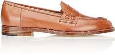 Manolo Blahnik Women's Urbane Penny Loafers-Brown