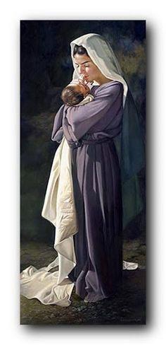 Mary's Heart by Liz Lemon Swindle