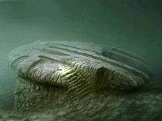 Under the Baltic Sea. Object appears to b e 14,000 years old.