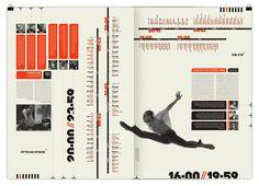 24//7 - Tel Aviv based Magazine by Moshik Nadav by Moshik Nadav Typography, via Behance