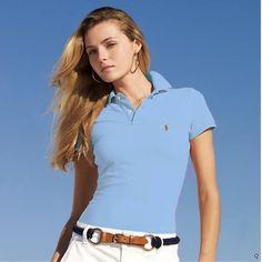 Ralph Lauren Womens Short Polo T Shirts Outlet Online