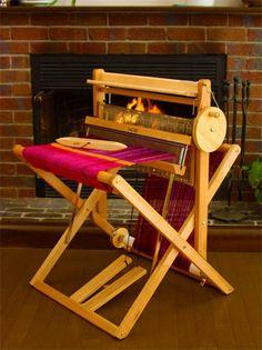 SAORI Loom WX60 all wood foldable. por SaoriStudioLA en Etsy