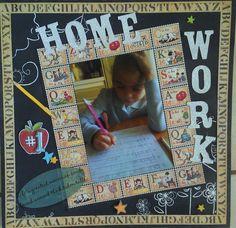Home Work - Scrapbook.com