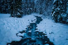 Stubborn River that refuses to Freeze!