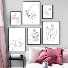 Nordic Art, Scandinavian Art, Nordic Style, Modern Gallery Wall, Modern Wall Art, Minimalist Home Decor, Minimalist Art, Diy Canvas Art, Canvas Wall Art