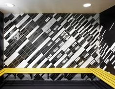 graphic tiles - football training centre in soweto [south africa] by rufproject