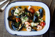 Brudet (Croatian Seafood Stew) | The Domestic Man