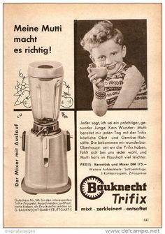 Original-Werbung/ Anzeige 1956 - BAUKNECHT - ca. 120 x 170 mm