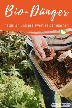 Biologischen Dünger selber machen aus Pflanzen und Küchenabfällen
