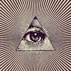 THE ALL SEEING EYE / Sacred Geometry <3