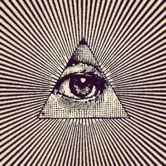 THE ALL SEEING EYE / Sacred Geometry <3