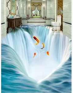 fantasy 3d floor murals for bathrooms using epoxy paint How to get 3D epoxy flooring in your bathroom in detail? A complete guide to installing self-leveling epoxy painted floor in your bathroom design, ways to get a 3D flooring in your home, Design options of 3D bathroom floor murals you can opt for and a collection of 3D epoxy flooring designs of the year 2017