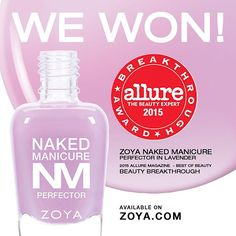 """""""We are celebrating by giving YOU the Lavender Perfector Mini (0.25oz) + the Glossy Seal Top Coat Mini FREE with any Naked Manicure purchase! Plus get free…"""""""