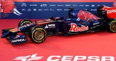 Toro Rosso revealed their 2014 challenger - the - in the Jerez pit-lane on Monday Bus, Grand Prix, Formula 1