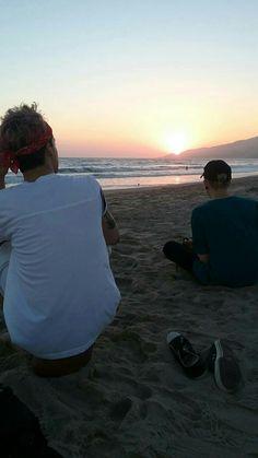 #lastfam #sunset #malibu